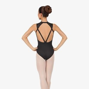 NATALIE DANCEWEAR POWER MESH LEOTARD